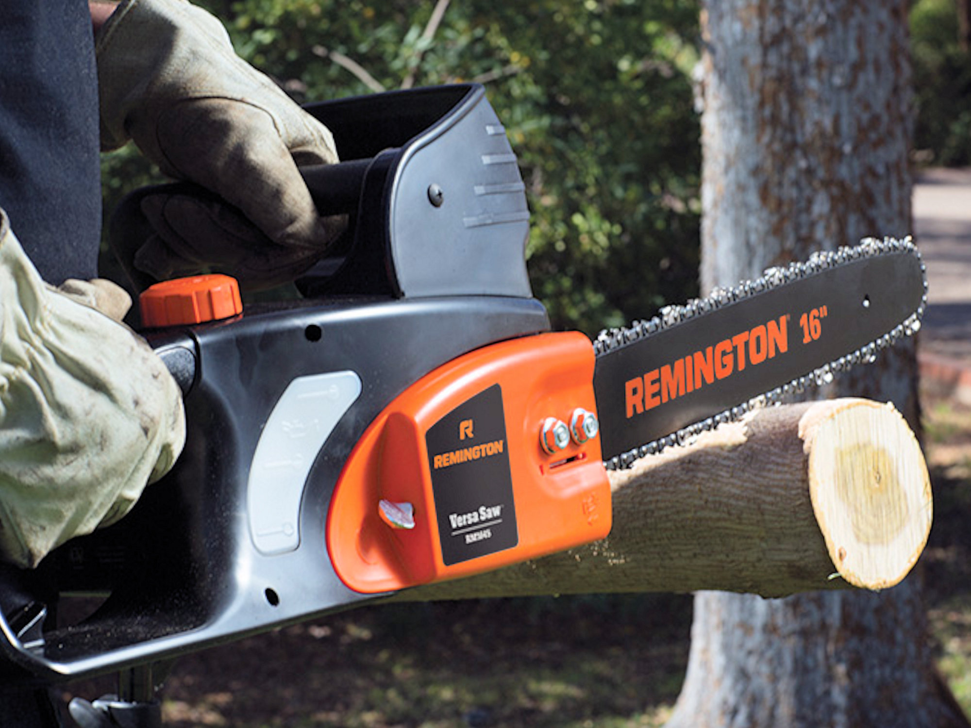 Remington RM1645 Versa Saw — electric chainsaw for garden