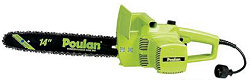 Electric Chainsaw Poulan 1420
